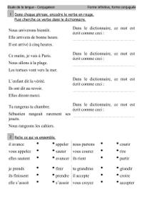 Fiche grammaire ce1 imprimer - Grammaire ce1 a imprimer ...