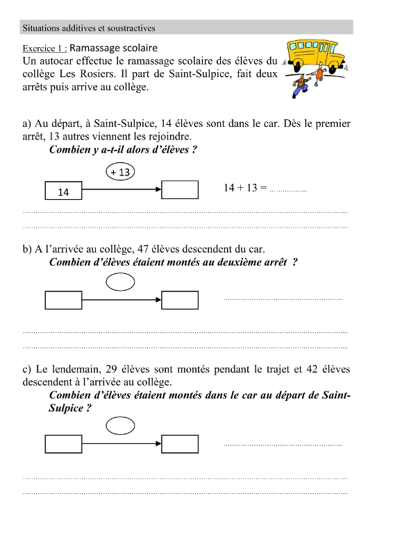 Maths ce2 situations additives et soustractives page 34 for Mathematique ce2 multiplication