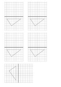 Géométrie CE2 ♦ La symétrie - Page 566