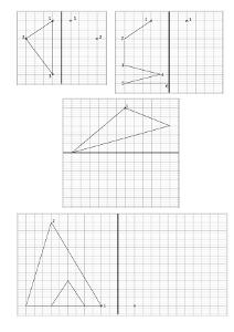 Geometrie Ce2 La Symetrie Cartable D Une Maitresse